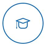 graduate hat icon
